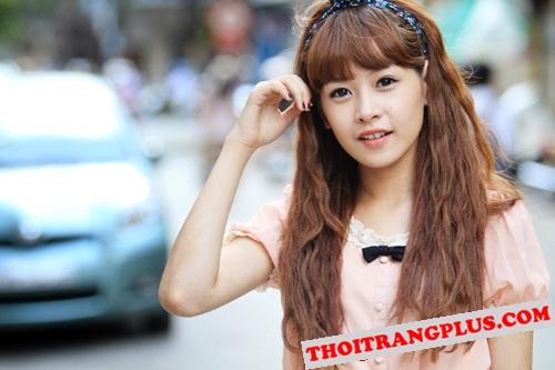 Top 4 kiểu tóc đẹp của Hot Girl Chi Pu lôi cuốn mọi ánh nhìn năm 2017 phần 11
