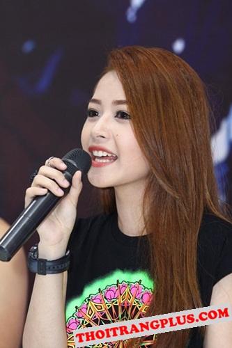 Top 4 kiểu tóc đẹp của Hot Girl Chi Pu lôi cuốn mọi ánh nhìn năm 2017 phần 3