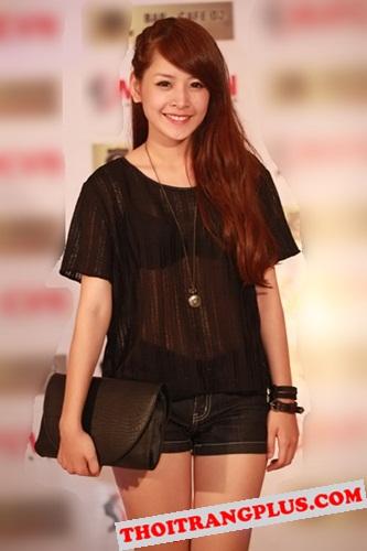 Top 4 kiểu tóc đẹp của Hot Girl Chi Pu lôi cuốn mọi ánh nhìn năm 2017 phần 4