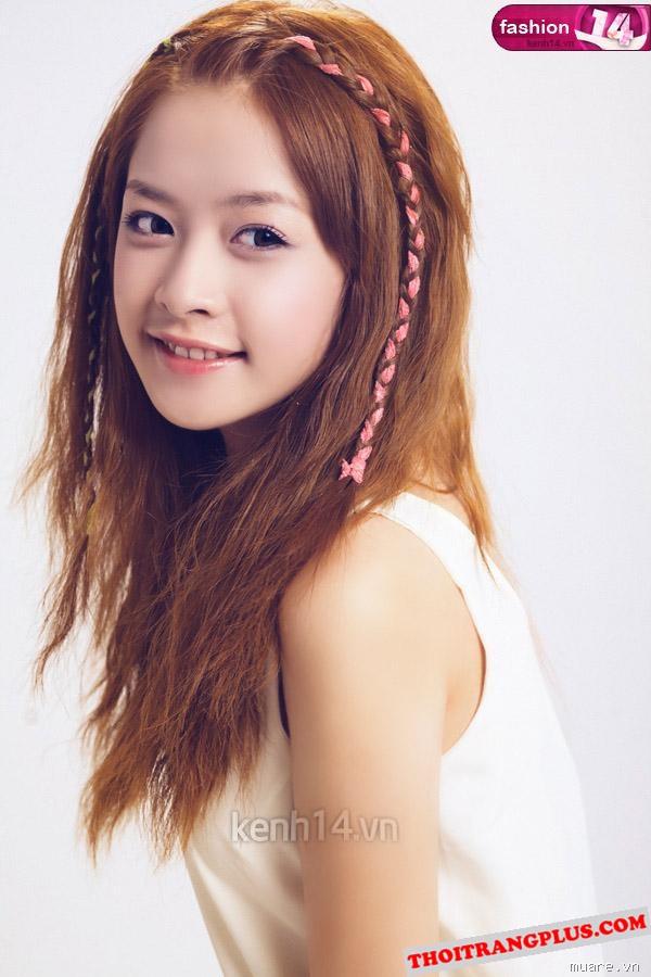 Top 4 kiểu tóc đẹp của Hot Girl Chi Pu lôi cuốn mọi ánh nhìn năm 2017 phần 5
