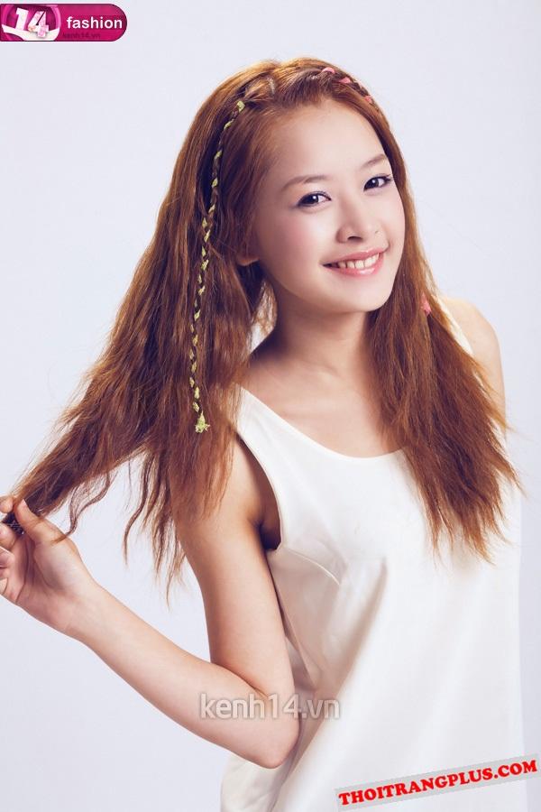 Top 4 kiểu tóc đẹp của Hot Girl Chi Pu lôi cuốn mọi ánh nhìn năm 2017 phần 6