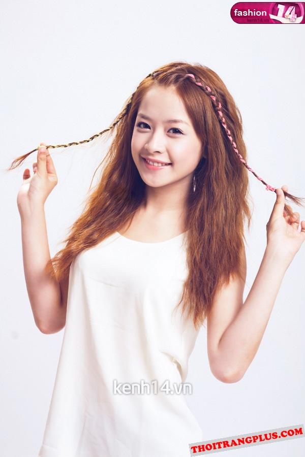 Top 4 kiểu tóc đẹp của Hot Girl Chi Pu lôi cuốn mọi ánh nhìn năm 2017 phần 7