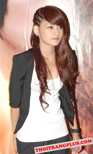 Top 4 kiểu tóc đẹp của Hot Girl Chi Pu lôi cuốn mọi ánh nhìn năm 2017 phần 8