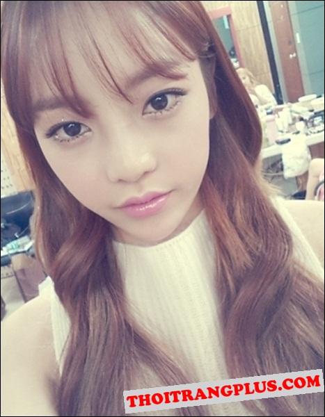 Kiểu tóc đẹp 2016 Hàn Quốc cho cô nàng dịu dàng trẻ trung phần 3