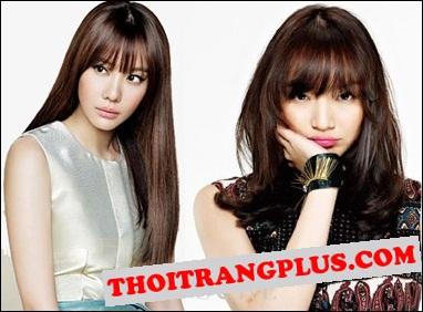 Kiểu tóc đẹp 2016 Hàn Quốc cho cô nàng dịu dàng trẻ trung phần 4