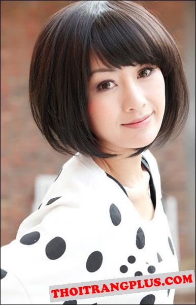 Kiểu tóc đẹp 2016 Hàn Quốc cho cô nàng dịu dàng trẻ trung phần 8