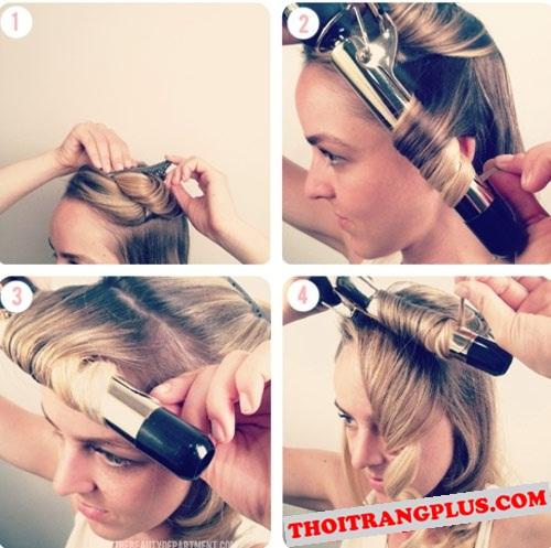 5 Bước làm tóc uốn đẹp 2017 chỉ với 5 phút dễ làm tại nhà phần 3