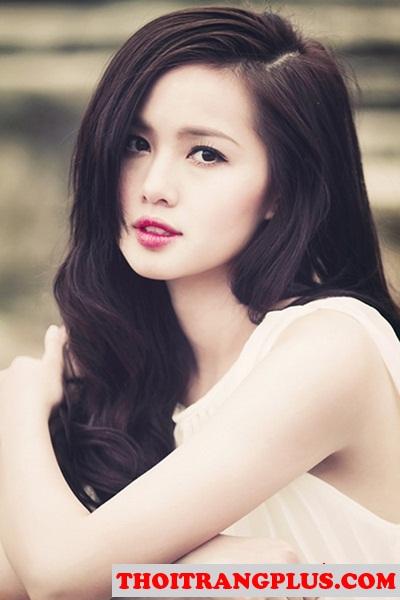 Những kiểu tóc uốn xoăn đẹp 2017 quyến rũ lôi cuốn Hot Girl Việt phần 1