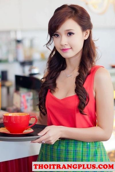 Những kiểu tóc uốn xoăn đẹp 2017 quyến rũ lôi cuốn Hot Girl Việt phần 2