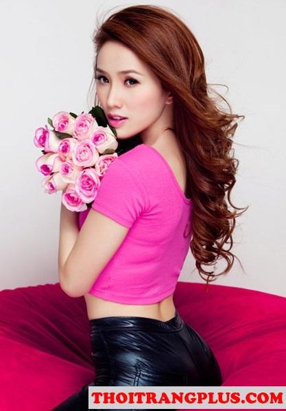 Những kiểu tóc uốn xoăn đẹp 2017 quyến rũ lôi cuốn Hot Girl Việt phần 7