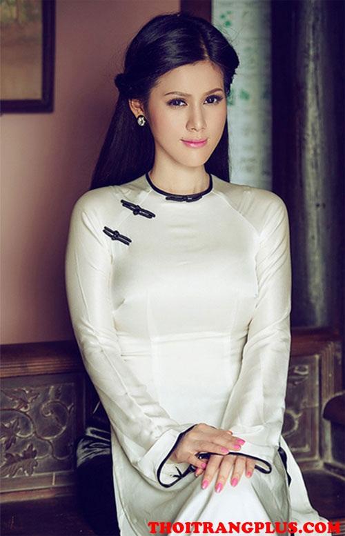 Tóc cô dâu đẹp 2018 phù hợp với áo dài cưới truyền thống Việt Nam phần 1