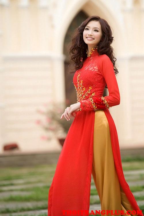 Tóc cô dâu đẹp 2018 phù hợp với áo dài cưới truyền thống Việt Nam phần 2