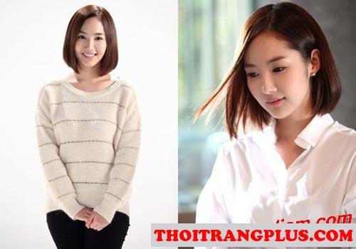 Tóc ngắn đẹp Hàn Quốc lôi cuốn trẻ trung cho mọi cô nàng 2017 phần 5