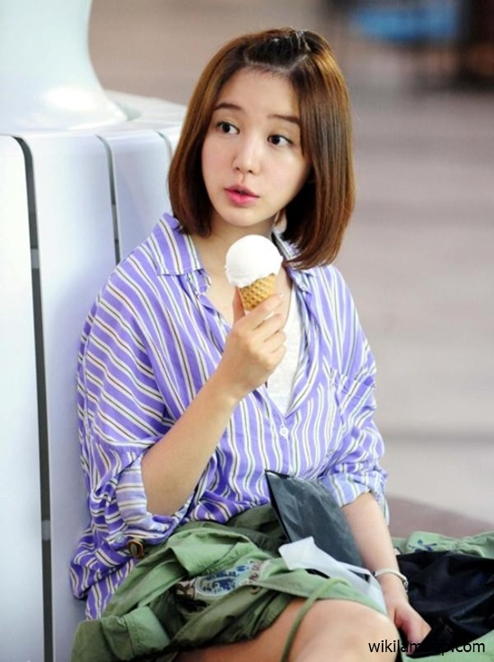 Tóc ngắn duỗi cúp phồng đẹp 2016 kiểu Hàn Quốc cho nàng trẻ trung phần 7