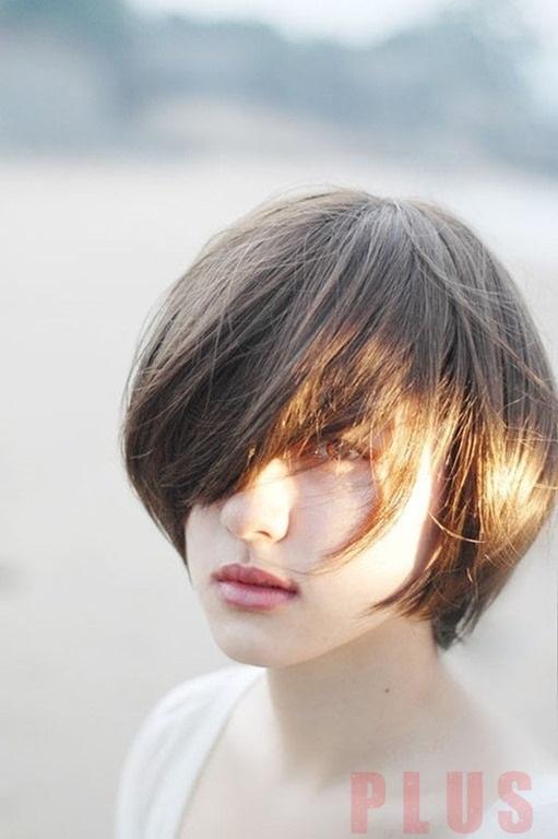 Kiểu tóc ngắn tomboy Hàn Quốc đẹp hè 2017 cho nàng thể hiện cá tính phần 11