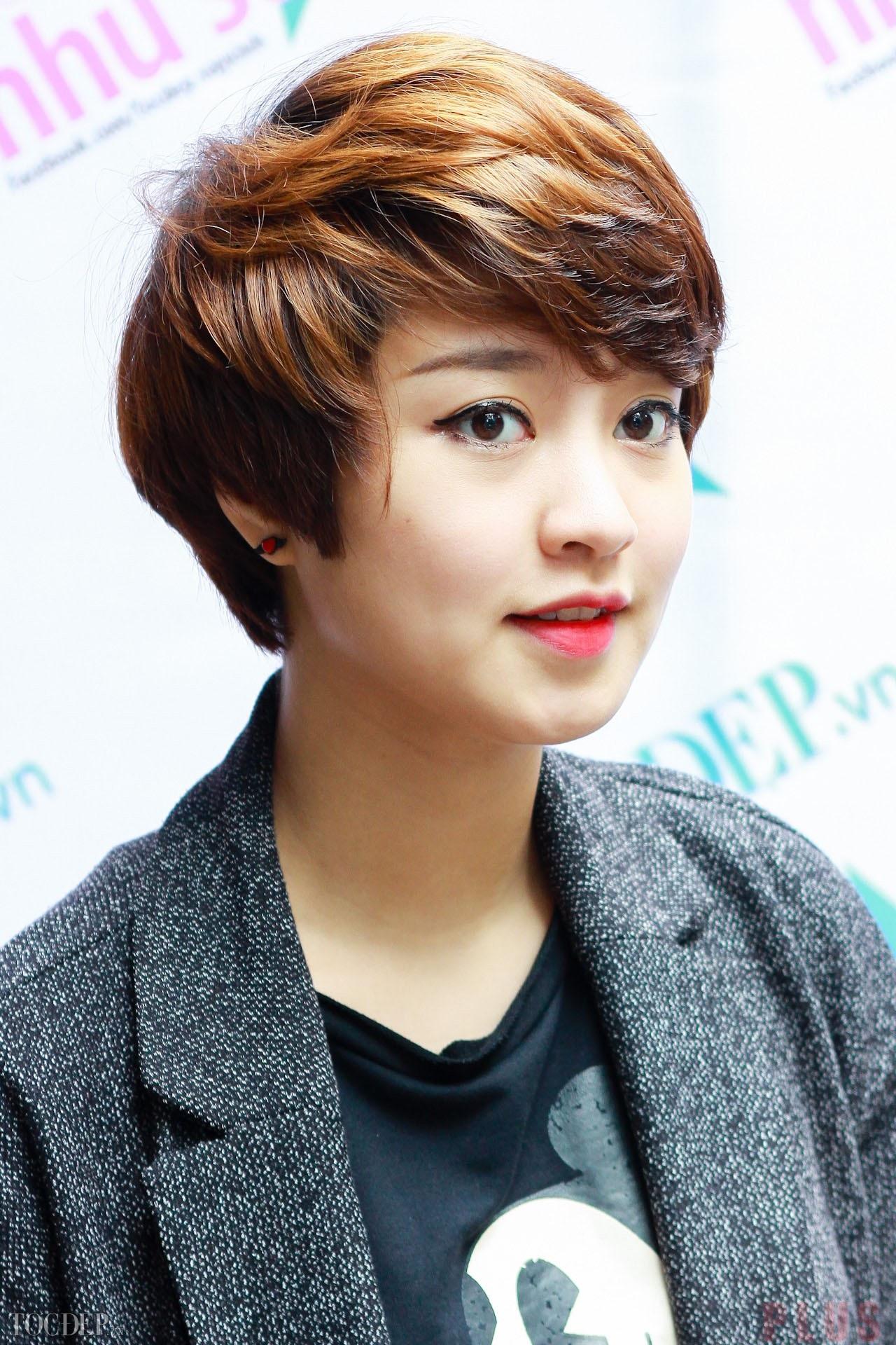 Kiểu tóc ngắn tomboy Hàn Quốc đẹp hè 2017 cho nàng thể hiện cá tính phần 13