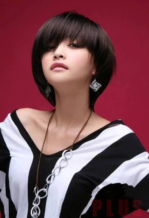 Kiểu tóc ngắn tomboy Hàn Quốc đẹp hè 2017 cho nàng thể hiện cá tính phần 2