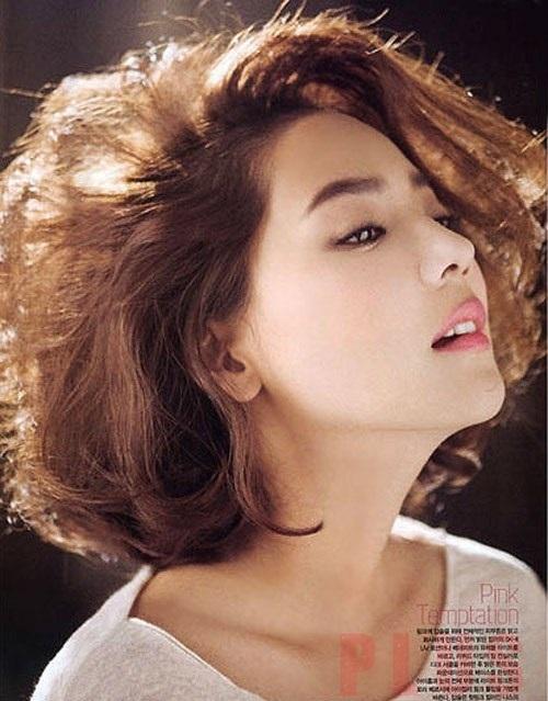 Kiểu tóc ngắn tomboy Hàn Quốc đẹp hè 2017 cho nàng thể hiện cá tính phần 3