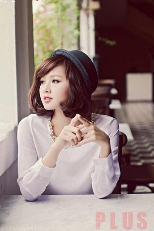 Kiểu tóc ngắn tomboy Hàn Quốc đẹp hè 2017 cho nàng thể hiện cá tính phần 4