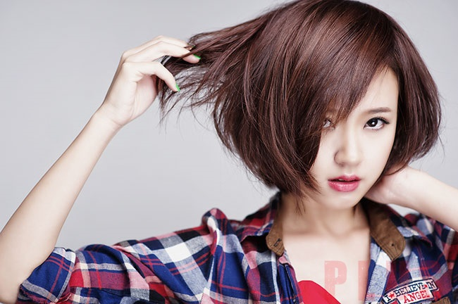 Kiểu tóc ngắn tomboy Hàn Quốc đẹp hè 2017 cho nàng thể hiện cá tính phần 8