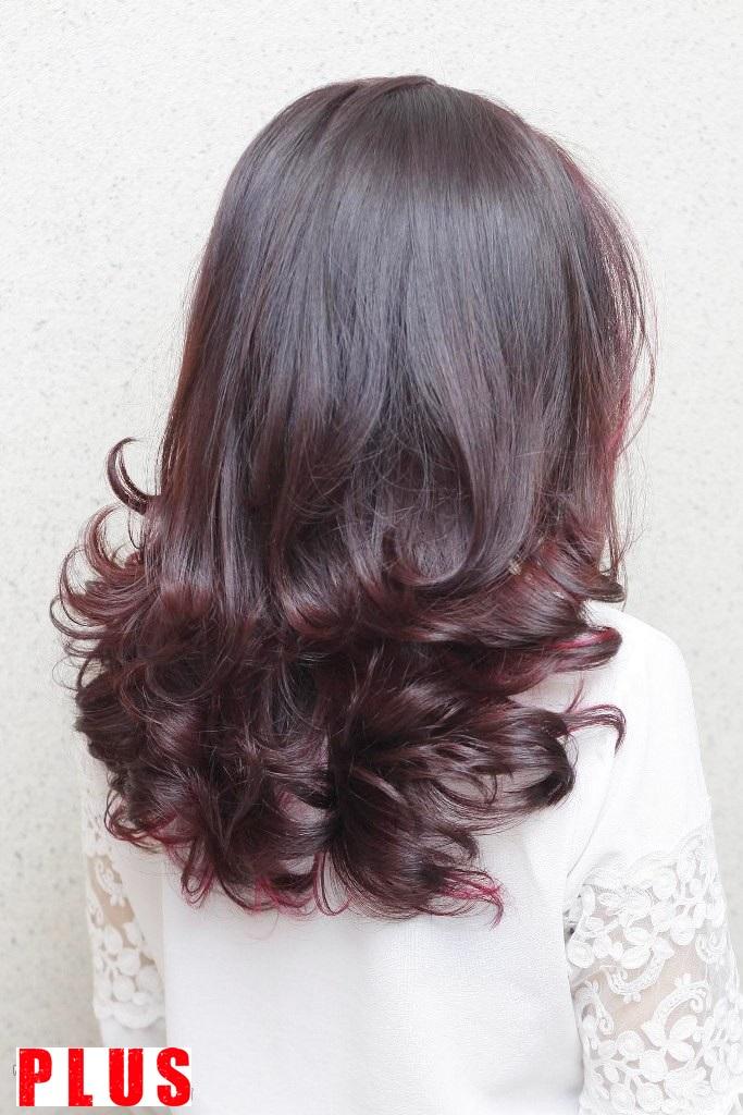 Những kiểu tóc ngắn lỡ uốn xoăn đuôi đẹp 2017 trẻ trung dịu dàng phần 1
