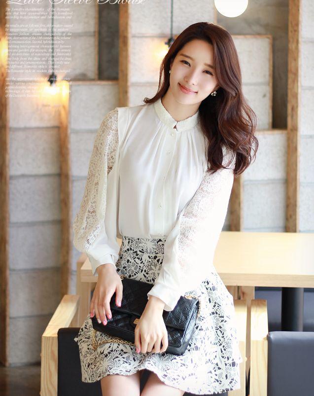 12 kiểu áo sơ mi nữ đẹp Hàn Quốc giúp cô nàng công sở trở nên sang trọng quý phái phần 1