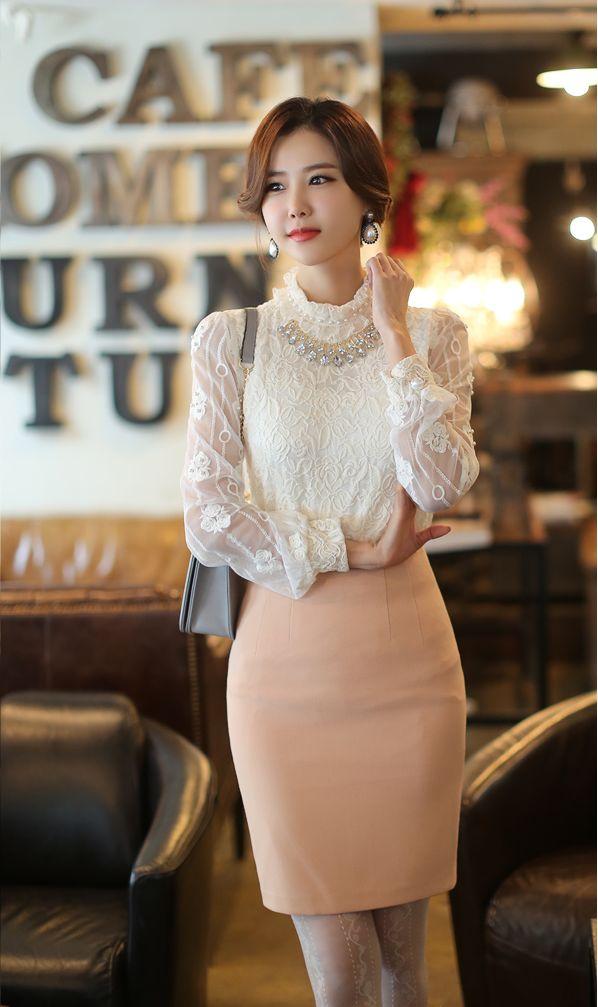 12 kiểu áo sơ mi nữ đẹp Hàn Quốc giúp cô nàng công sở trở nên sang trọng quý phái phần 2