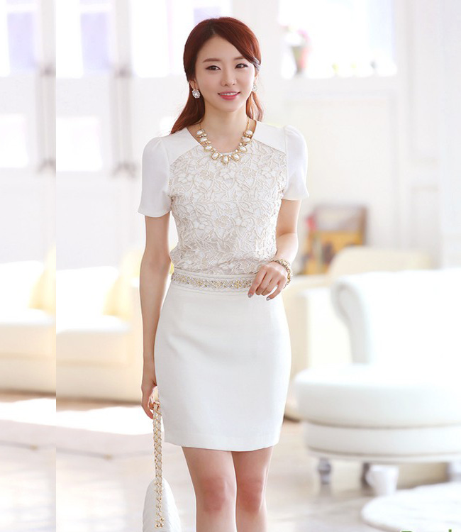 12 kiểu áo sơ mi nữ đẹp Hàn Quốc giúp cô nàng công sở trở nên sang trọng quý phái phần 4