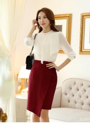 12 kiểu áo sơ mi nữ đẹp Hàn Quốc giúp cô nàng công sở trở nên sang trọng quý phái phần 7