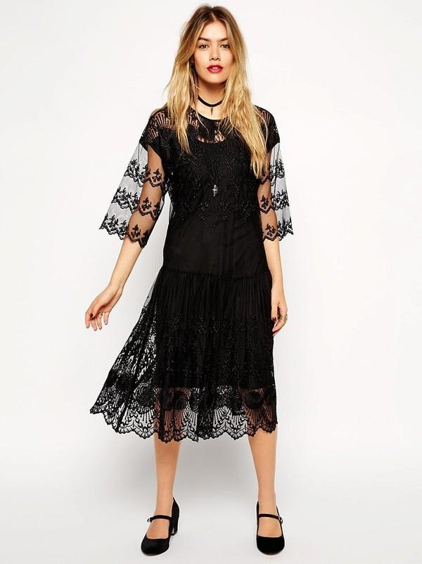 Những kiểu váy ren đẹp hot nhất hiện nay cho quý cô sang trọng đi dự tiệc phần 1