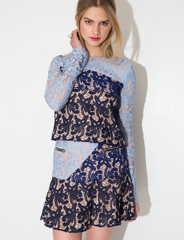 Những kiểu váy ren đẹp hot nhất hiện nay cho quý cô sang trọng đi dự tiệc phần 10