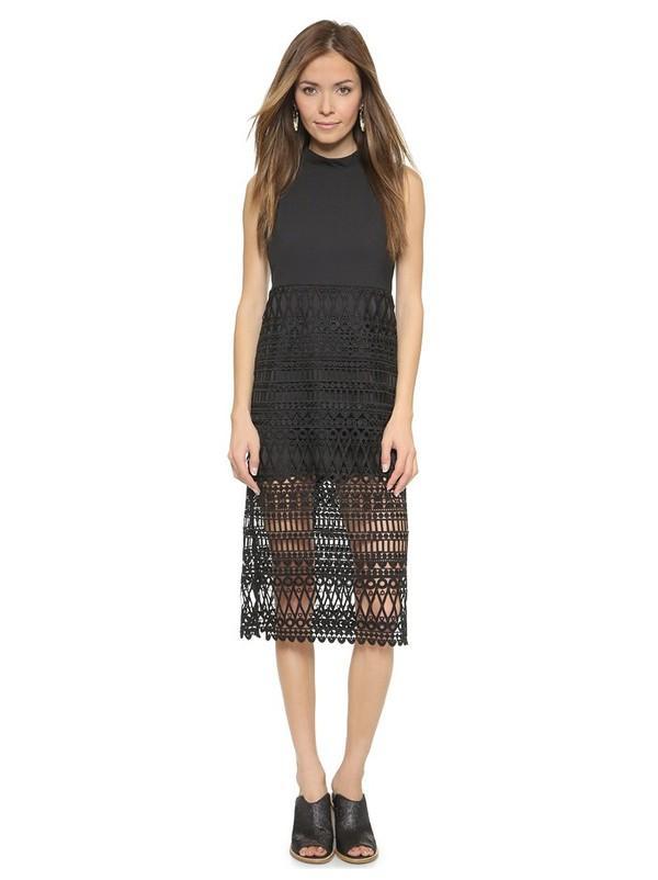 Những kiểu váy ren đẹp hot nhất hiện nay cho quý cô sang trọng đi dự tiệc phần 5