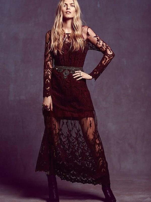 Những kiểu váy ren đẹp hot nhất hiện nay cho quý cô sang trọng đi dự tiệc phần 6