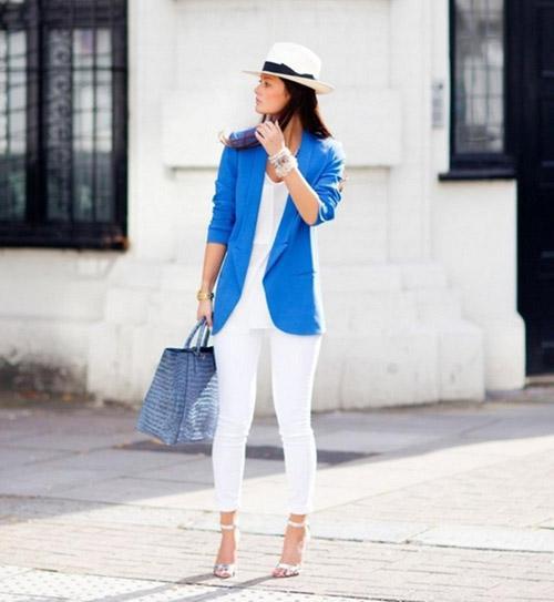 3 kiểu áo khoác blazer nữ đẹp đông 2016 - 2017 cho quý cô công sở phần 10