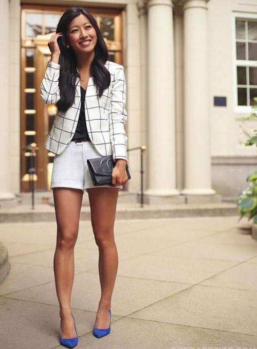 3 kiểu áo khoác blazer nữ đẹp đông 2016 - 2017 cho quý cô công sở phần 11