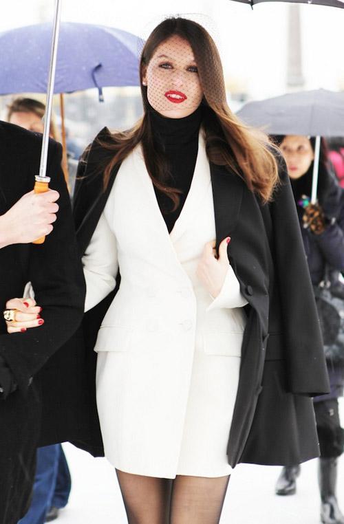 3 kiểu áo khoác blazer nữ đẹp đông 2016 - 2017 cho quý cô công sở phần 13