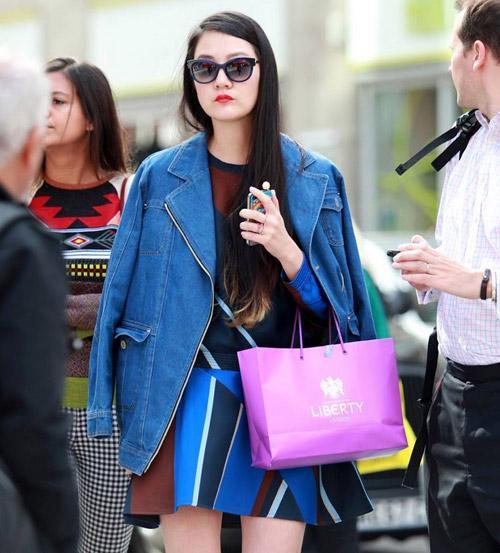 3 kiểu áo khoác blazer nữ đẹp đông 2016 - 2017 cho quý cô công sở phần 17