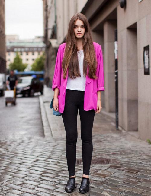 3 kiểu áo khoác blazer nữ đẹp đông 2016 - 2017 cho quý cô công sở phần 3