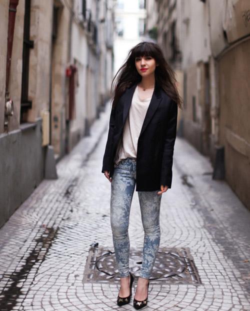3 kiểu áo khoác blazer nữ đẹp đông 2016 - 2017 cho quý cô công sở phần 6