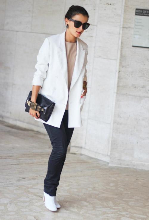 3 kiểu áo khoác blazer nữ đẹp đông 2016 - 2017 cho quý cô công sở phần 8