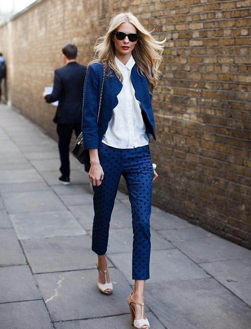 3 kiểu áo khoác blazer nữ đẹp đông 2016 - 2017 cho quý cô công sở phần 9