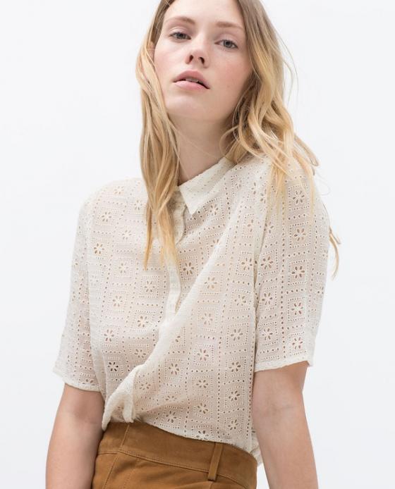 5 kiểu áo sơ mi nữ hàn quốc đẹp phong cách trẻ trung mát dịu ngày hè 2017 phần 11
