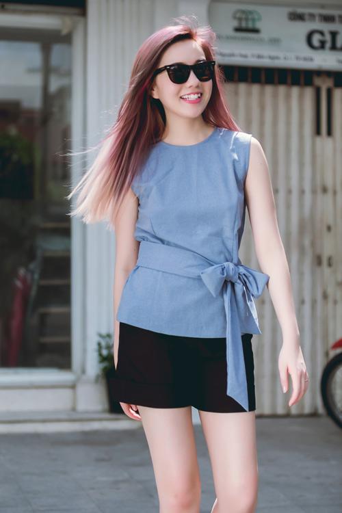 Áo thun dây nữ Hàn Quốc đẹp xuân hè 2017 cho nàng công sở dạo phố phần 3