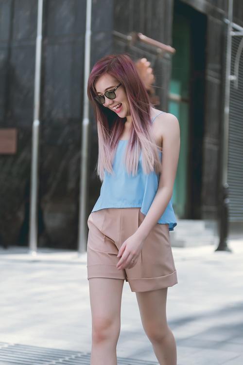 Áo thun dây nữ Hàn Quốc đẹp xuân hè 2017 cho nàng công sở dạo phố phần 6
