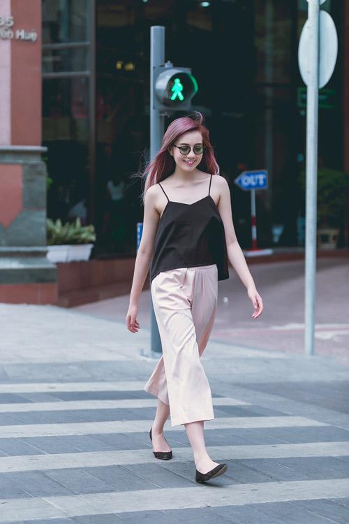 Áo thun dây nữ Hàn Quốc đẹp xuân hè 2017 cho nàng công sở dạo phố phần 7