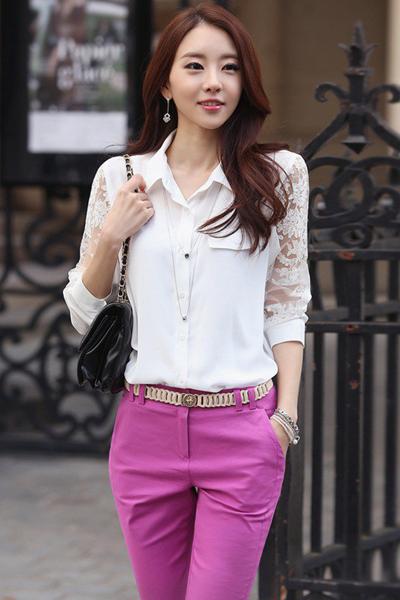 BST thời trang nữ đẹp Hàn Quốc xuân hè 2015 thanh lịch cuốn hút nàng công sở phần 1