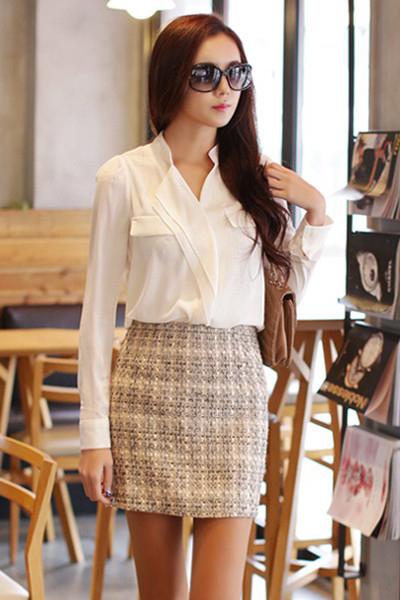 BST thời trang nữ đẹp Hàn Quốc xuân hè 2015 thanh lịch cuốn hút nàng công sở phần 2