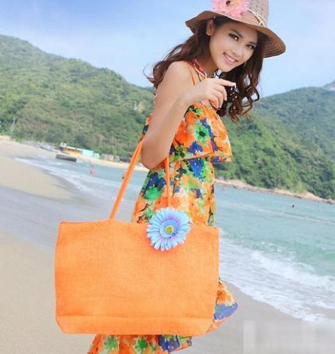 Túi cói nữ đẹp Hàn Quốc cho nàng công sở tung tăng dạo biển hè 2017 phần 19