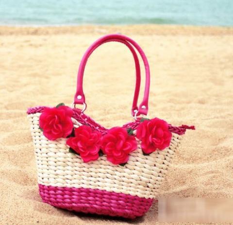 Túi cói nữ đẹp Hàn Quốc cho nàng công sở tung tăng dạo biển hè 2017 phần 6