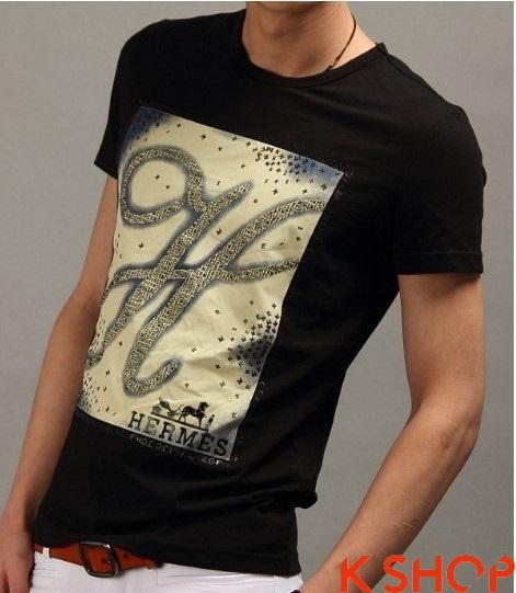 Áo phông nam đẹp hàng hiệu Hermes hot nhất trong mùa thời trang hè 2017 phần 5